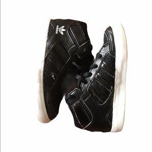 Adidas Hi Tops Black Runners Sneakers Shoes 8K